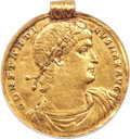 Ancients:Roman Imperial, Constantine I, as Augustus (AD 307-337). AV medallion of 9...
