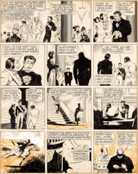 "Lou Fine (as Jack Cortez) Jumbo Comics #11 ""The Count of Monte Cristo"" Story Page 4 Original Art (Fiction Hous..."