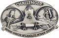 Explorers:Space Exploration, Space Shuttle STS-41-B Flown Robbins Medallion, Serial Number 37F, Directly from the Personal Collection of Mission Specia...