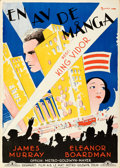 "Movie Posters:Drama, The Crowd (MGM, 1929). Rolled, Very Fine Swedish One Sheet (28"" X 39.5"") Eric Rohman Artwork.. ..."