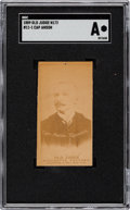 Baseball Cards:Singles (Pre-1930), 1887-90 N172 Old Judge Cap Anson, Street Clothes SGC Authentic....