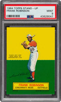 Baseball Cards:Singles (1960-1969), 1964 Topps Stand-Up Frank Robinson PSA Mint 9 - None Higher....