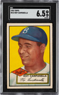 Baseball Cards:Singles (1950-1959), 1952 Topps Roy Campanella #314 SGC EX/NM+ 6.5....