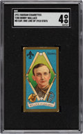 Baseball Cards:Singles (Pre-1930), 1911 T205 Gold Border Bobby Wallace (No Cap, One Line of 1910 Stats) SGC VG/EX 4....