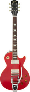 Musical Instruments:Electric Guitars, Dave Amato's Circa 2007 Gibson '58 Les Paul Cherry Solid Body Electric Guitar, Serial # 8 7444.. ...