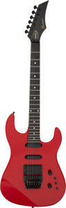 Musical Instruments:Electric Guitars, 1987 Gibson WRC Red Solid Body Electric Guitar, Serial # 82597630.. ...