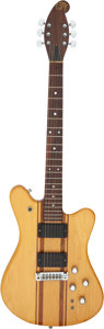 Musical Instruments:Electric Guitars, Circa 1979/1980 Martin E-18 Natural Solid Body Electric Guitar, Serial # 3262.. ...
