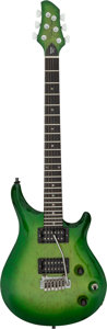 Musical Instruments:Electric Guitars, 1991 Patrick James Eggle Berlin Pro Greenburst Solid Body Electric Guitar, Serial # L91000576 BP.. ...