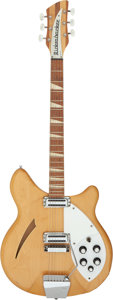 Musical Instruments:Electric Guitars, 1966 Rickenbacker 360 Mapleglo Semi-Hollow Body Electric Guitar, Serial # FD 1170.. ...