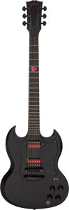 Musical Instruments:Electric Guitars, 2003 Gibson Voodoo SG Trans-Black Solid Body Electric Guitar, Serial # 02603369.. ...