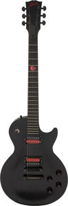 Musical Instruments:Electric Guitars, 2003 Gibson Voodoo Les Paul Trans-Black Solid Body Electric Guitar, Serial # 01803384.. ...
