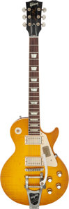 Musical Instruments:Electric Guitars, 2012 Gibson Historic Murphy Aged Les Paul R-0 Sunburst Solid Body Electric Guitar, Serial # 02347.. ...