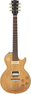 Musical Instruments:Electric Guitars, 2002 Gibson Les Paul BFG Gold Solid Body Electric Guitar, Serial #017370539.. ...