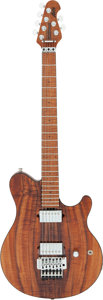 Musical Instruments:Electric Guitars, 2017 Ernie Ball Music Man Axis Natural Solid Body Electric Guitar, Serial # G86843.. ...