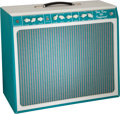 Musical Instruments:Amplifiers, PA, & Effects, Tone King Imperial Torquoise Guitar Amplifier, Serial #200-382.. ...