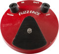 Musical Instruments:Amplifiers, PA, & Effects, Dunlop Fuzz Face Red Effect Pedal, Serial #AA49D322.. ...