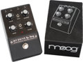Musical Instruments:Amplifiers, PA, & Effects, Moog Minifooger Effect Pedal, Serial #MFS-DRIVE-01.. ...