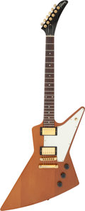 Musical Instruments:Electric Guitars, 1999 Gibson Explorer Natural Solid Body Electric Guitar, Serial # 92819793.. ...