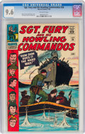 Silver Age (1956-1969):War, Sgt. Fury and His Howling Commandos #26 (Marvel, 1966) CGC NM+ 9.6 Off-white pages....