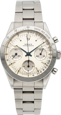 Rolex, Ref. 6239 Oyster Chronograph, with Ref. 6238 Dial, Stainless Steel, Circa 1964