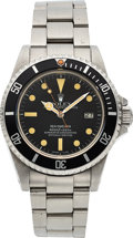 "Timepieces:Wristwatch, Rolex, Ref. 16660 Sea-Dweller ""Triple Six"", Matte Dial, Stainless Steel, Circa 1984. ..."