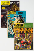 Golden Age (1938-1955):Classics Illustrated, Classics Illustrated Group of 25 (Gilberton, 1940s-60s) Condition: Average GD+.... (Total: 25 Comic Books)