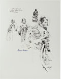 "Explorers:Space Exploration, Apollo 11: Paul Calle Signed Limited Edition, #41/250, ""Thumbs Up"" Print, also Signed by Michael Collins. ..."