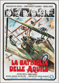 "Movie Posters:War, Aces High (Gold Film, 1977). Folded, Very Fine. Italian 2 - Fogli (39.25"" X 55""). War.. ..."