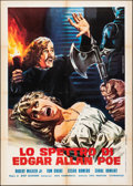 "Movie Posters:Horror, The Spectre of Edgar Allan Poe (Arden, 1974). Folded, Very Fine-. Italian 2 - Fogli (39.25"" X 55.25"") Mario Piovano Artwork...."