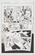 Original Comic Art:Panel Pages, Peter Gross Books of Magic #28 Story Page 17 Original Art (DC, 1996)....
