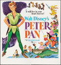 """Movie Posters:Animation, Peter Pan (Buena Vista, R-1969). Folded, Very Fine+. Six Sheet (80"""" X 85.5""""). Animation.. ..."""