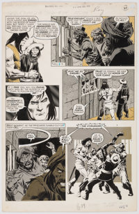 John Buscema and Tony DeZuniga The Savage Sword of Conan #32 Story Page 27 Original Art (Marvel, 1978)