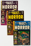 Golden Age (1938-1955):Horror, Vault of Horror Group of 4 (EC, 1954-55) Condition: Average GD/VG.... (Total: 4 Comic Books)