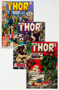 Bronze Age (1970-1979):Superhero, Thor Group of 41 (Marvel, 1964-76) Condition: Average VG.... (Total: 41 )
