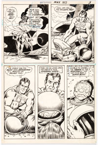 Curt Swan and Murphy Anderson Superman #237 Story Page 3 Original Art (DC Comics, 1971)