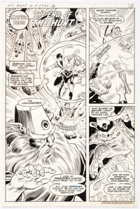 Joe Staton and Murphy Anderson Superboy and the Legion of Super-Heroes #245 Story Page 13 Original Art (DC Comics