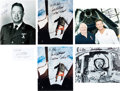Explorers:Space Exploration, Joe Kittinger: Group of Five Signed and Inscribed Photos with One Signature on Card. ...