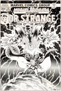 Original Comic Art:Covers, Frank Brunner Marvel Premiere #14 Cover Doctor Strange Original Art (Marvel, 1974)....