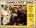 "Movie Posters:Horror, Island of Lost Souls (Paramount, 1933). Very Fine+. Lobby Card (11"" X 14"").. ..."