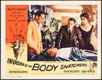 "Invasion of the Body Snatchers (Allied Artists, 1956). Very Fine-. Lobby Card (11"" X 14"") & Photos (17..."