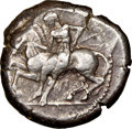 Ancients:Greek, Ancients: CILICIA. Celenderis. Ca. 425-350 BC. AR stater (20mm, 8h). NGC XF....