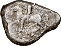 Ancients: CILICIA. Tarsus. Ca. late 5th century BC. AR stater (23mm, 10.86 gm, 3h). NGC XF 3/5 - 4/5