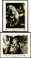 """Movie Posters:Drama, Blonde Venus (Paramount, 1932). Very Fine-. French Lobby Cards (2) (9.5"""" X 11.5"""").. ... (Total: 2 Items)"""