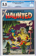 Golden Age (1938-1955):Horror, This Magazine Is Haunted #21 (Charlton, 1954) CGC FN- 5.5 Cream to off-white pages....