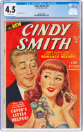 Golden Age (1938-1955):Romance, Cindy Comics #39 (Timely, 1950) CGC VG+ 4.5 Off-white pages....