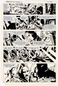 Gene Day Master of Kung Fu #118 Story Page 28 Original Art (Marvel Comics, 1982)