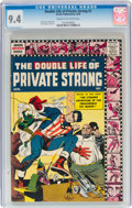 Silver Age (1956-1969):Superhero, The Double Life of Private Strong #2 (Archie, 1959) CGC NM...