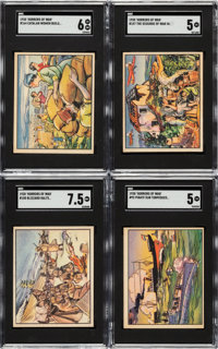 """1938 Gum Inc. """"Horrors Of War"""" Partial Set (182 of the first 192)"""