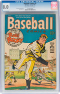 Golden Age (1938-1955):Miscellaneous, Baseball Comics #1 (Will Eisner, 1949) CGC VF 8.0 Off-white to white pages....