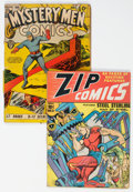 Golden Age (1938-1955):Miscellaneous, Golden Age Miscellaneous Comics Group of 2 (Fox/MLJ, 1940) Condition: PR.... (Total: 2 Comic Books)